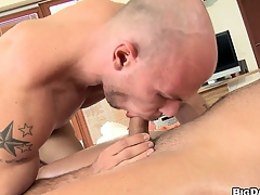 Hard cock-sucking and anal banging is everything those dudes want