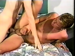 Mark Handler worships a long stick and takes it relative to his ass in excess of the wainscot