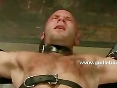 Gay dab hand tortures bound slave with wax increased by serfdom clips in nas