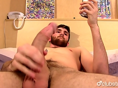 Sexy Straight Jaxon Masturbating