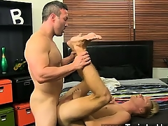 Male models Halcyon straight muscle fellows take pleasure in Brock Landon c