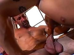 Muscle bound stud loves dick slamming