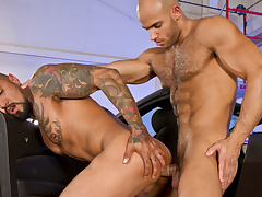 Auto Erotic, Part 2 XXX Video: Boomer Banks, Sean Zevran