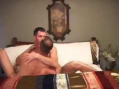 Trevor trades head and sits on his cock to ride it up his asshole